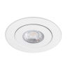 This item: Lotos White Seven-Inch LED ADA Round Adjustable Recessed Downlight