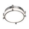 This item: Wright Brushed Nickel 14-Inch LED Flush Mount