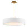 This item: Manhattan Aged Brass 26-Inch LED Pendant