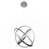 This item: Tumbling Chrome 20-Inch Three-Light LED Pendant