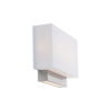 This item: Maven Brushed Nickel LED ADA Wall Sconce