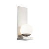 This item: Hollywood Brushed Nickel LED Wall Sconce