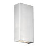 This item: Blok Satin Nickel Three-Inch LED Vertical Wall Sconce with Emergency Backup Battery