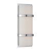 This item: Vie Chrome Three-Inch 3000K LED Wall Sconce