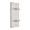 This item: Vie Brushed Nickel Three-Inch 3500K LED Wall Sconce