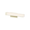 This item: Brink Brushed Brass Three-Inch 2700K LED Bath Bar Light