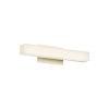 This item: Brink Brushed Brass Three-Inch 3500K LED Bath Bar Light