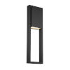 This item: Archetype Black Three-Inch LED Outdoor Wall Sconce
