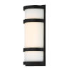 This item: Latitude Black 14-Inch 3000K LED Outdoor Wall Sconce