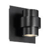 This item: Barrel Black Five-Inch LED Outdoor Wall Sconce