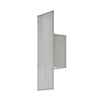 This item: Icon Brushed Aluminum 5-Inch LED Outdoor Wall Light