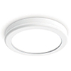 This item: Geos White 6-Inch LED Flush Mount with 3000K Soft White