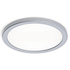 This item: Geos Titanium 10-Inch LED Flush Mount with 2700K Warm White
