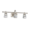 This item: Rondelle Polished Nickel One-Light LED Wall Sconce