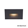 This item: Black LED Rectangular Scoop Step Light