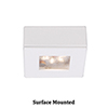 This item: LEDme Square Button Lights White Under Cabinet Fixture
