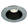 This item: Tesla Specular Black and Brushed Nickel 3.5-Inch Pro LED Trim with 30 Degree Beam, 2700K, 90 CRI