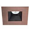 This item: Tesla Copper Bronze 3.5-Inch Pro LED Square 0-30 Degree Adjustable Trim with 52 Degree Beam, 2700K, 90 CRI