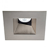 This item: Tesla Brushed Nickel 3.5-Inch Pro LED Square 0-30 Degree Adjustable Trim with 52 Degree Beam, 3000K, 90 CRI