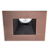 This item: Tesla Copper Bronze 3.5-Inch Pro LED Square 0-30 Degree Adjustable Trim with 52 Degree Beam, 3000K, 90 CRI
