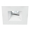 This item: Tesla White 3.5-Inch Pro LED Square 0-30 Degree Adjustable Trim with 30 Degree Beam, 2700K, 90 CRI