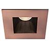 This item: Tesla Copper Bronze 3.5-Inch Pro LED Square Trim with 30 Degree Beam, 2700K, 90 CRI