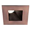 This item: Tesla Copper Bronze 3.5-Inch Pro LED Square 30-45 Degree Adjustable Trim with 38 Degree Beam, 3000K, 90 CRI