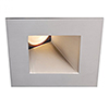 This item: Tesla Brushed Nickel 3.5-Inch Pro LED Square 30-45 Degree Adjustable Trim with 26 Degree Beam, 3000K, 90 CRI
