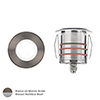 This item: Bronzed Stainless Steel Low Voltage LED Round Landscape Indicator Light
