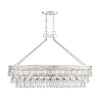 This item: Windham Polished Nickel Eight-Light Linear Chandelier