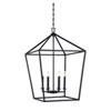 This item: Townsend Matte Black Six-Light Pendant