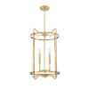 This item: Kent Warm Brass Four-Light Pendant