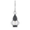 This item: Enfield Oxidized Black One-Light Outdoor Hanging Lantern