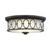 This item: Sherrill Matte Black LED Flush Mount