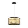 This item: Pelham Castillo Three-Light Convertible Pendant