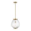 This item: Welles Warm Brass One-Light Pendant