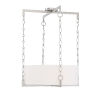 This item: Abbott Satin Nickel Four-Light Pendant