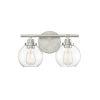 This item: Carson Satin Nickel Two-Light Bath Vanity