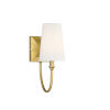 This item: Cameron Warm Brass One-Light Wall Sconce