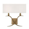 This item: Payton Warm Brass Two-Light Wall Sconce