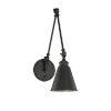 This item: Morland Matte Black One-Light Sconce