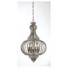 This item: Ashford Aged Wood Four-Light Chandelier