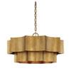 This item: Shelby Gold Patina Six-Light Pendant