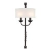 This item: Oberon Black Two-Light Wall Sconce