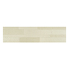 This item: Bolder Stone 6 x 24 In. Alabaster Self Adhesive Stone Wall Tile, Set of 6