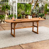 This item: Acacia Wood Patio Butterfly Table - Brown