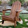 This item: Acacia Adirondack Chair - Dark Brown