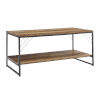 This item: Troy Barnwood and Black Accent Coffee Table