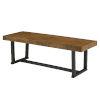 This item: Durango Reclaimed Barnwood Dining Bench