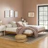 This item: Caramel Wooden King Platform Bed